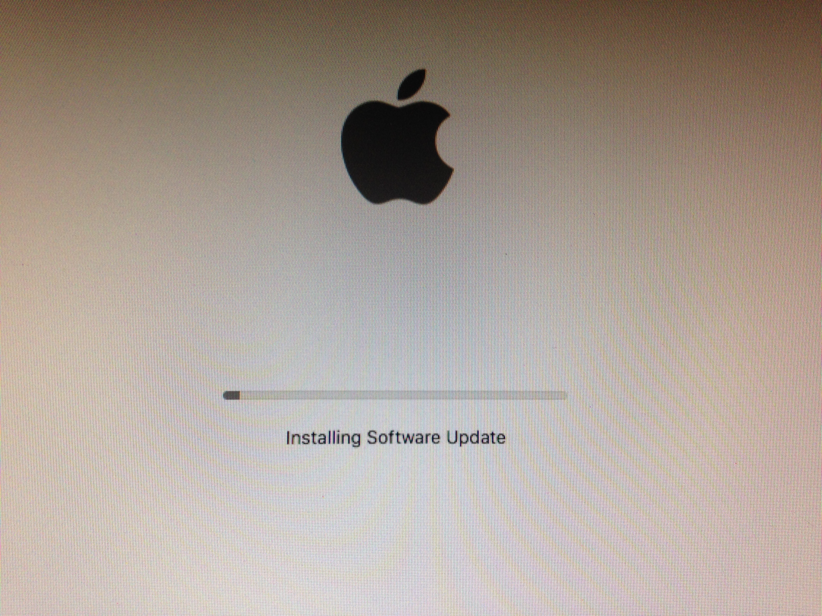 Photo of Installing software update