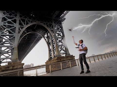 Photo of DRONE IN A LIGHTNING STORM – YouTube